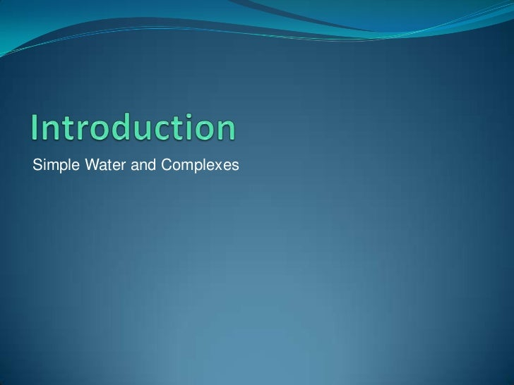 complexometric determination of water hardnesss Determination of water hardness of filtered and unfiltered water using complexometric titration: what effect will a brita ® filter have on water hardness.
