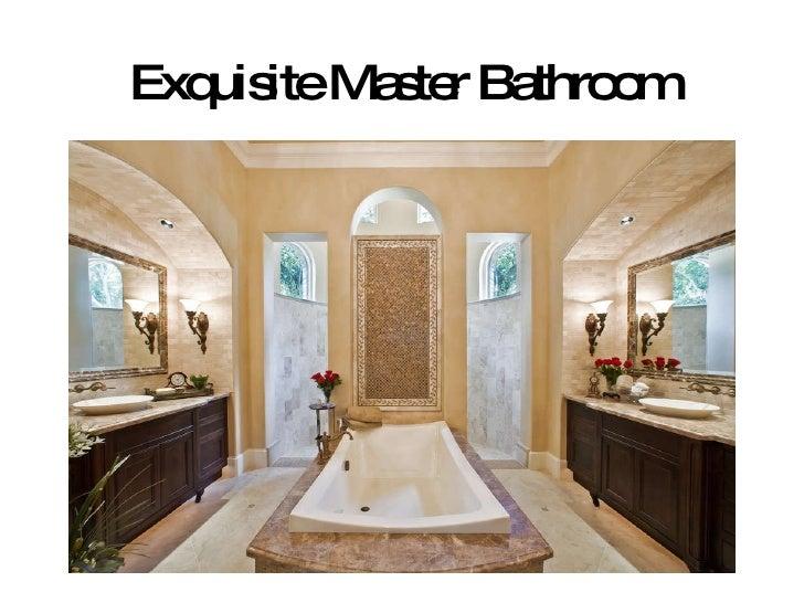 Exquisite Master Bathroom