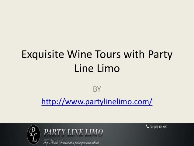 Exquisite Wine Tours with Party Line Limo BY http://www.partylinelimo.com/