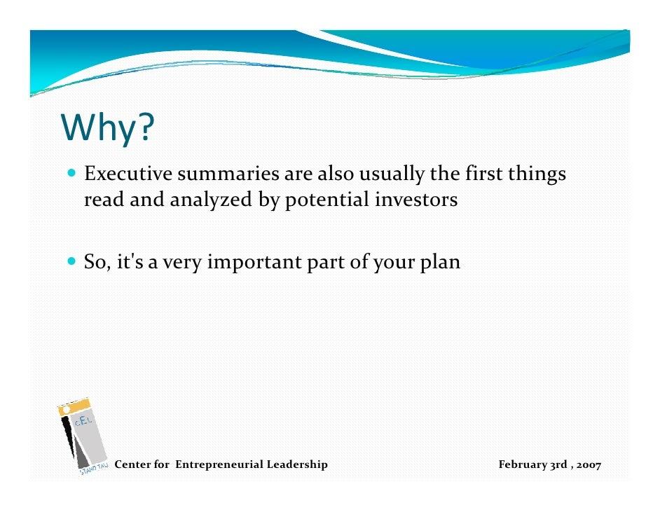 Santander sample business plan