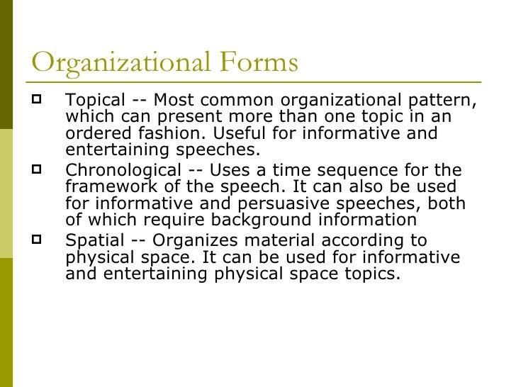 Topical Organizational Pattern Classy Patterns Of Organization Of Amazing Spatial Organizational Pattern