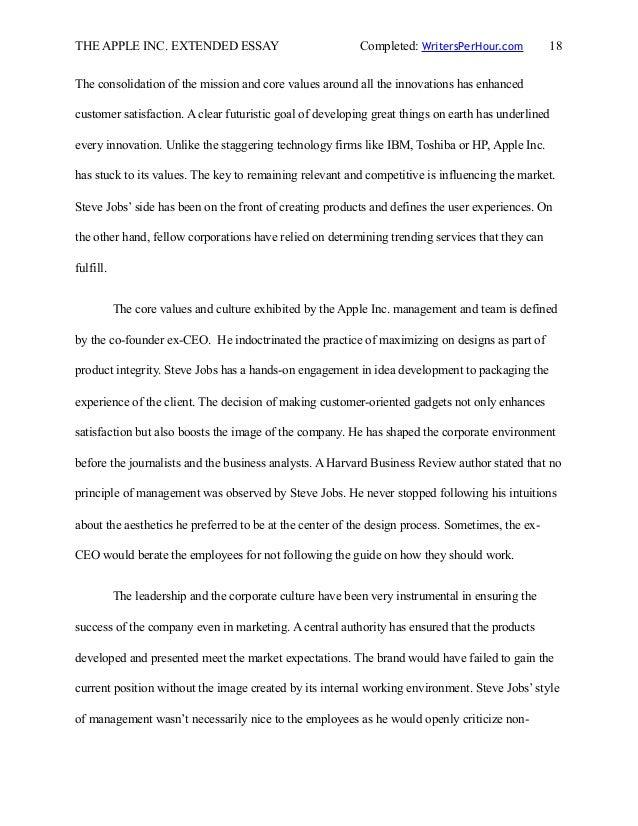 apple design essay