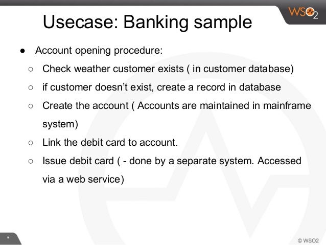 Integrated banking system a use case for system integration busine long running process 4 reheart Image collections