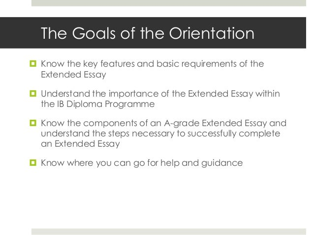 elements of an extended essay Extended essay rubric a: research question this criterion assesses the extent to which the purpose of the essay is specified in many subjects, the.