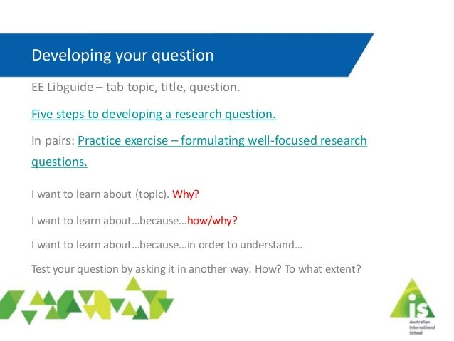 research questions for music extended essay