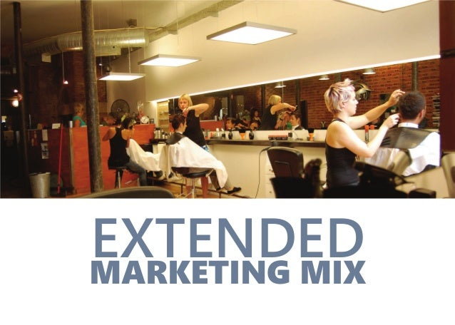 MARKETING MIX EXTENDED
