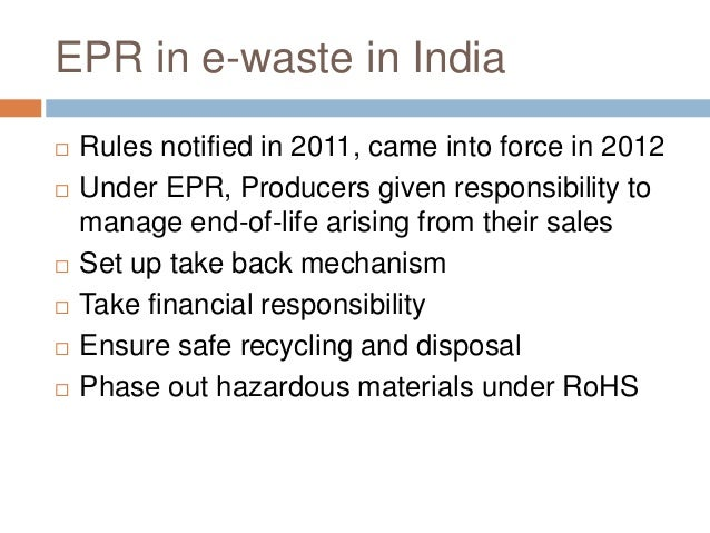 E-waste Management Workshop: Mr. Satish Sinha
