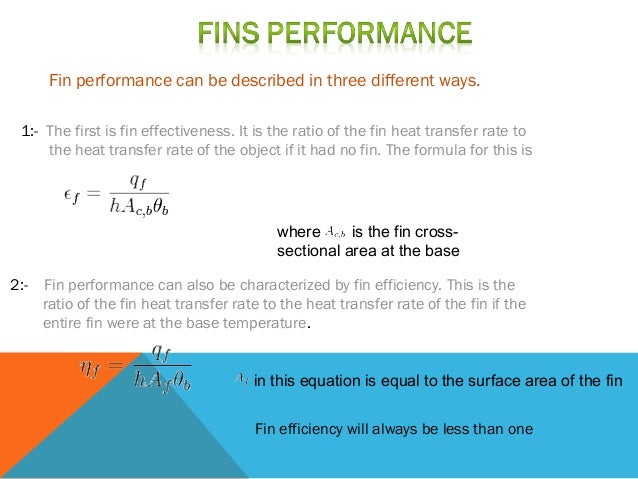 heat transfer from extended surfaces fins pdf