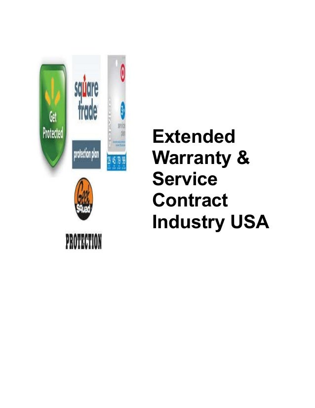 Extended Warranty Industry In Us