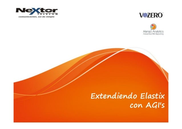 Extendiendo Elastix con AGI's