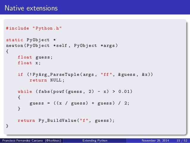 Extending Python, what is the best option for me?