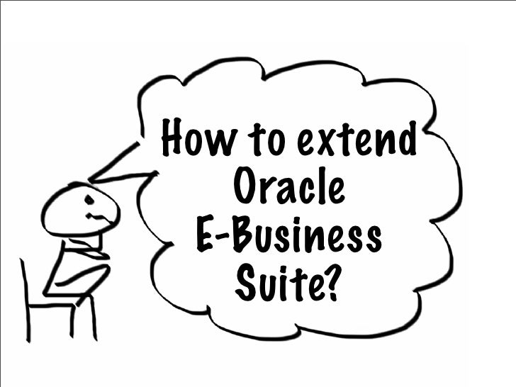 Extending Oracle E-Business Suite with Ruby on Rails