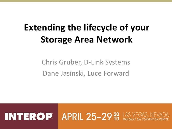 Extending the lifecycle of your storage area network