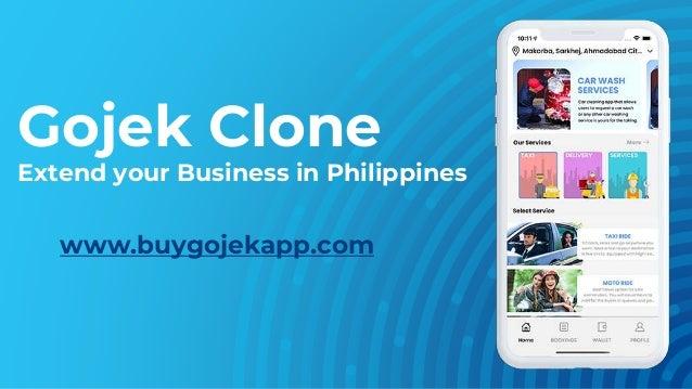 Gojek Clone Extend your Business in Philippines www.buygojekapp.com