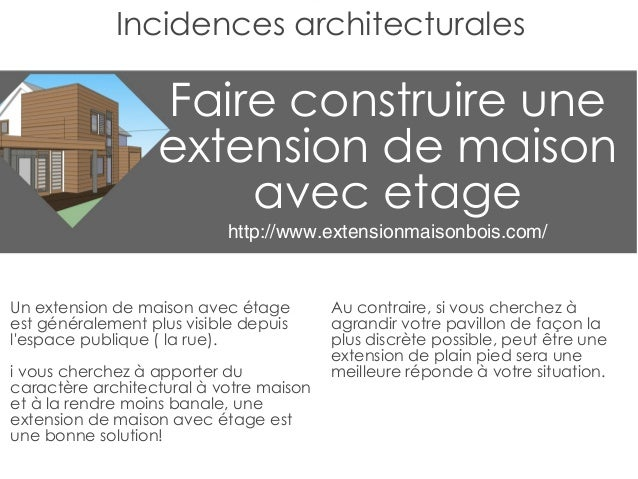 Extension maison etage for Extension maison etage