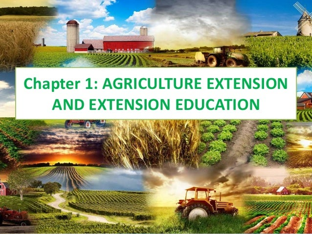 Agriculture Extension and Communication ver1.2 Slide 2