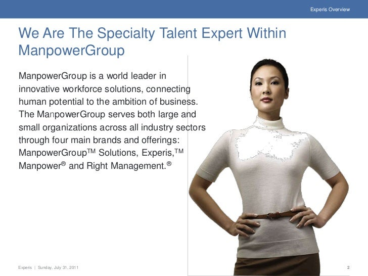 Experis Overview Slide 2
