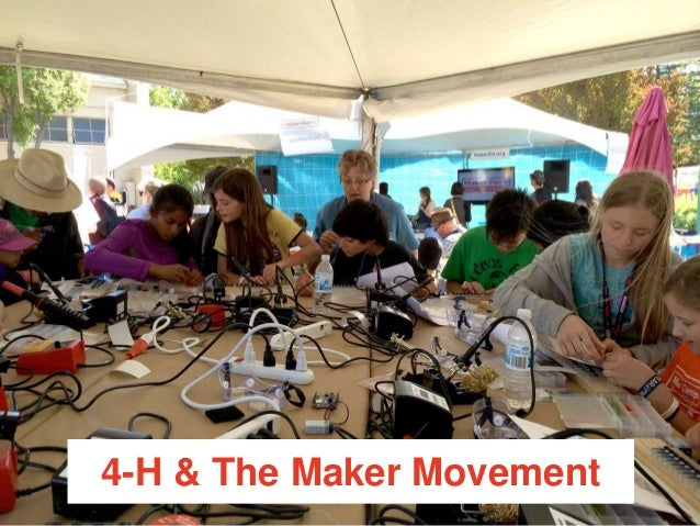 Extension The Maker Movement