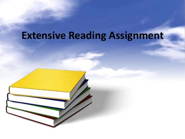 Extensive Reading Assignment