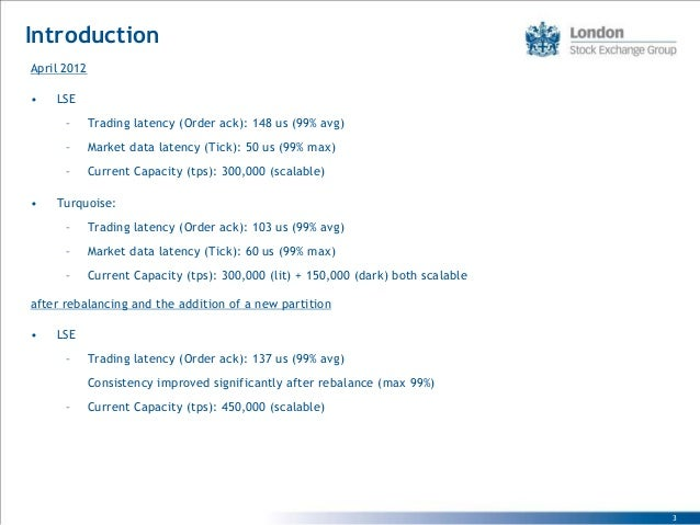 Extent 2013 Obninsk  LSE - The Focus Beyond Low Latency Slide 3