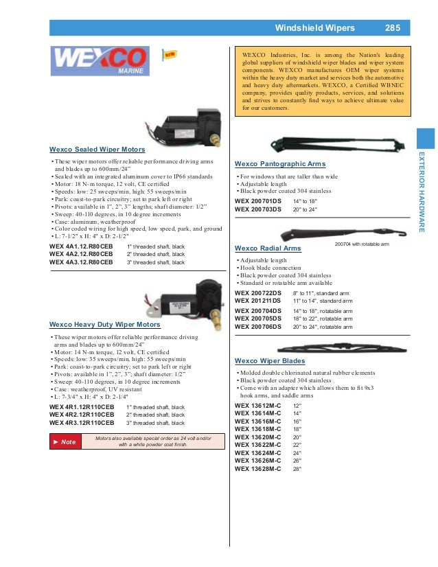 4exterior hardware 3 638?cb=1420147689 4 exterior hardware afi marine wiper motor wiring diagram at crackthecode.co