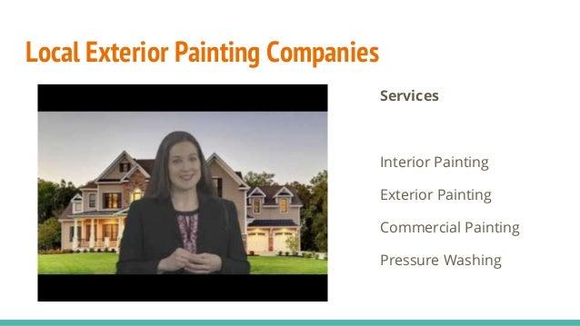 Exterior painting companies everett
