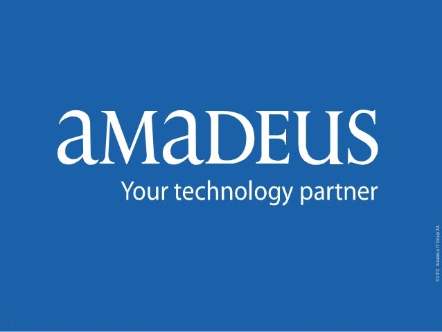 Amadeus Solutions For Travel Agents