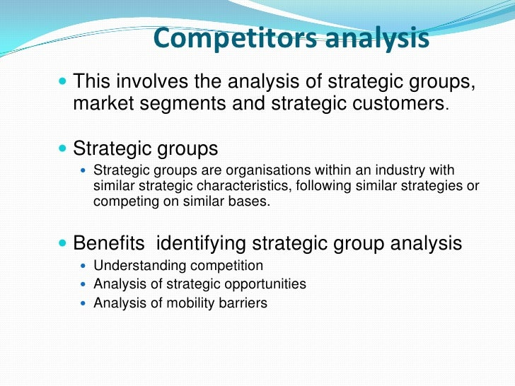 4 How do I conduct a Strategic Group Analysis?