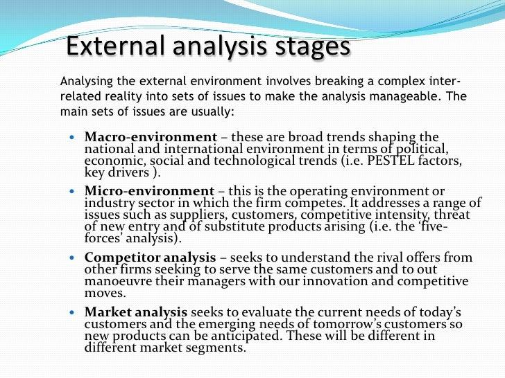 social external factors