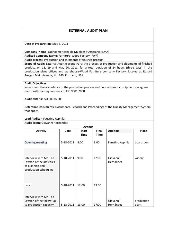 Externalauditplanjpgcb - Audit program template