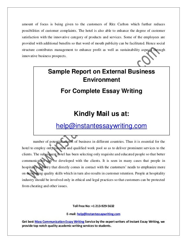 Ge External Environment Essay Coursework Example  Ge External Environment Essay The External Environment The External  Environment Can Greatly Affect Your Marketing Efforts Essay On Healthcare also Healthy Diet Essay  Business Strategy Essay