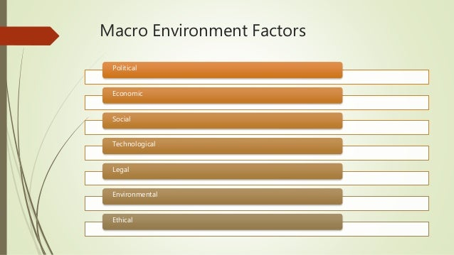 macro environment factors affect organisation in malaysia An organization's macroenvironment consists of nonspecific aspects in the organization's surroundings that have the potential to affect the organization's strategies when compared to a.