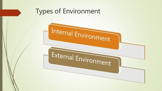 external enviroment There are two kinds of external marketing environments micro and macro these  environments' factors are beyond the control of marketers but.