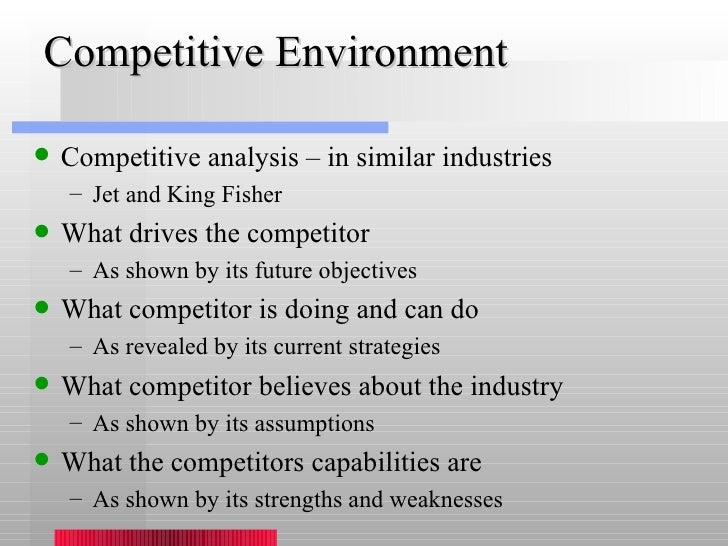 an analysis of competitive environment Porter's five forces model | strategy framework the larger the company's competitive environment and porter's five forces analysis for ikea competitive.