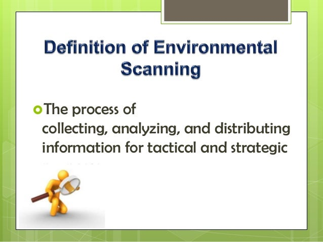 environmental scan report Infocomm international®, the trade association representing the commercial audiovisual industry worldwide, has released the 2016 environment scan report the report.