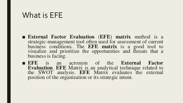 chipolte external factor evaluation The audit report and internal control evaluation  chipolte external factor evaluation stages of study and evaluation of internal control  internal controls  internal alignment  recommendation brief for an internal accountant  factors  internal/external  send me this sample  topic: internal factor evaluation how about make it original let us edit for you at only $139 to make it 100% original proceed if you need this or any other sample, we can send it to you via email.