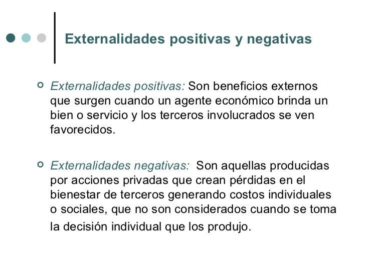 Externalidades - Energias positivas y negativas ...