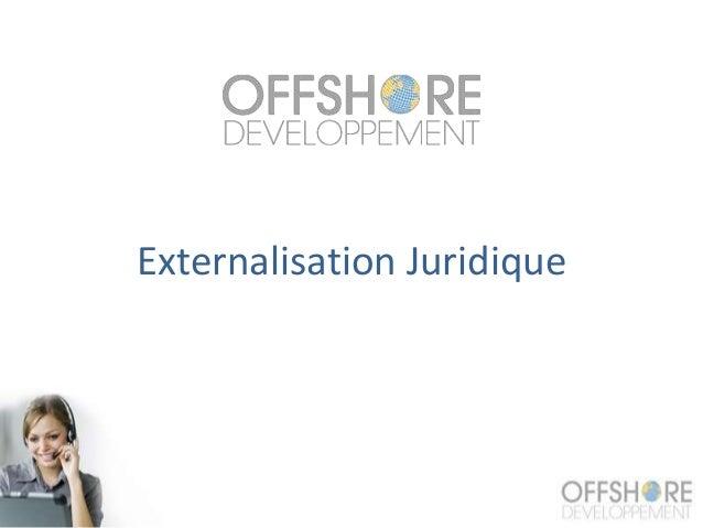 Externalisation Juridique