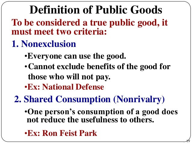 Externalities and Public Goods: Theory OR Society?