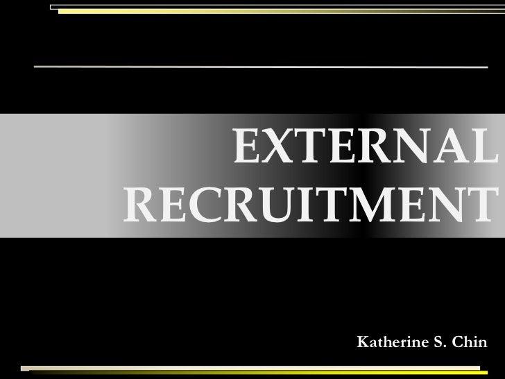 EXTERNALRECRUITMENT      Katherine S. Chin