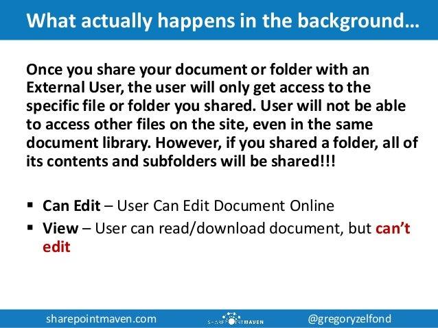 sharepointmaven.com @gregoryzelfondsharepointmaven.com @gregoryzelfond What actually happens in the background… Once you s...