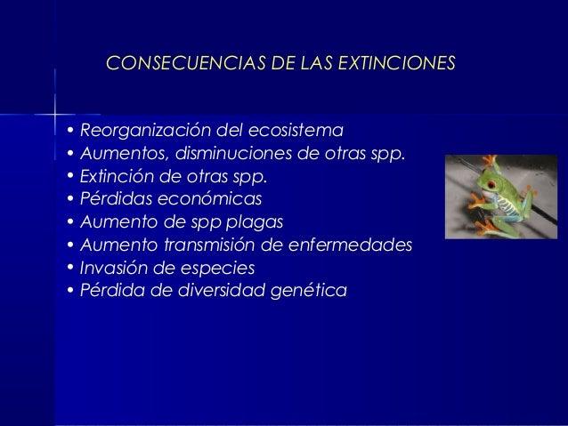 Resultado de imagen de Extinciones y plagas