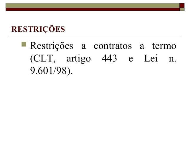 Artigo 477 clt comentado