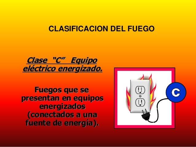 Uso y manejo extintores Clasificacion de equipo de cocina