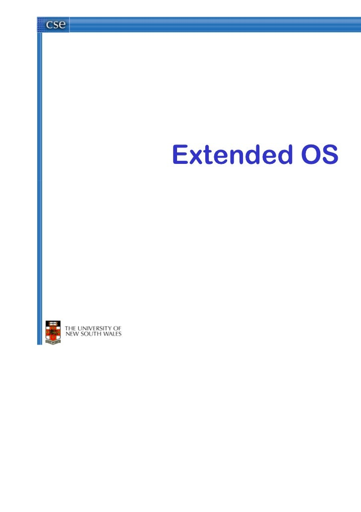 Extended OS