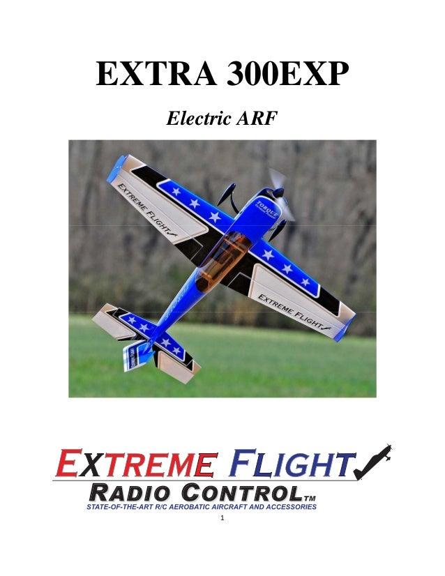 EXTRA 300EXP Electric ARF  1