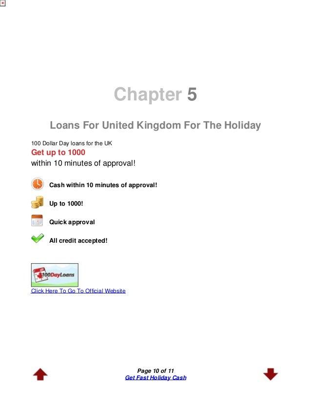 Holiday money loans image 9