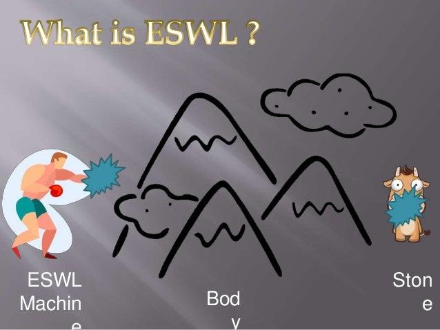 Extracorporeal shock wave lithotripsy (eswl) Slide 2