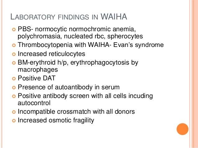 cold autoimmune hemolytic anemia pdf