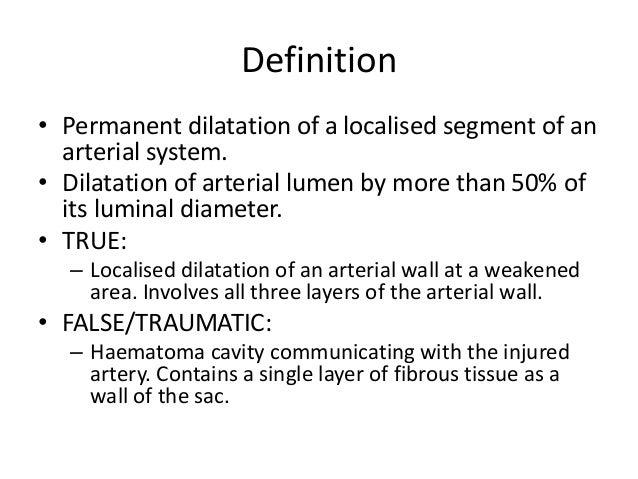 extra cranial aneurysms, Human Body